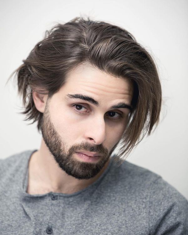Cool messy haircuts for guys with thick hair 1
