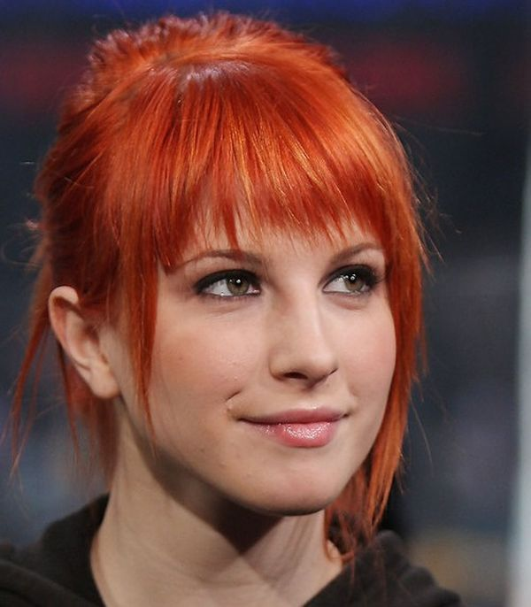 Cute Hairstyles For Short Red Hair With Bangs 1