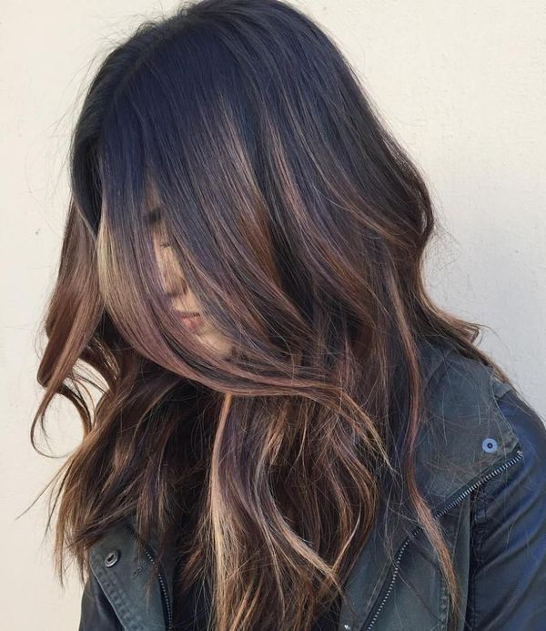 Brown Balayage Best Ideas Of Brunette Balayage November 2019