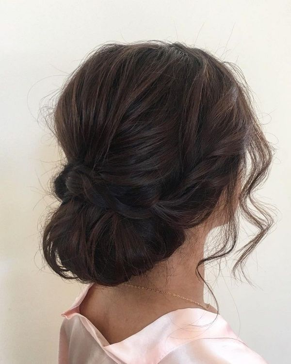 DIY Updo For Medium Length Hair You Can Wear To Prom 3