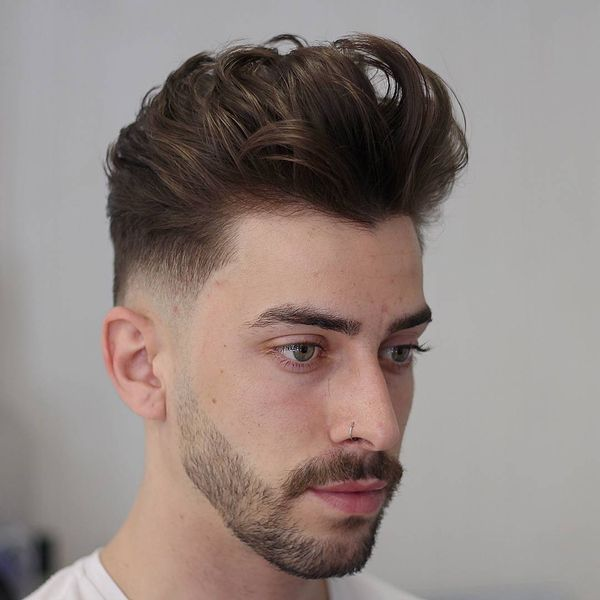 Easy Medium Length Messy Hairstyles For Guys 2