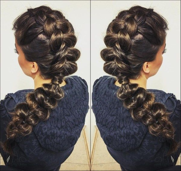 Elegant long braid styles 1