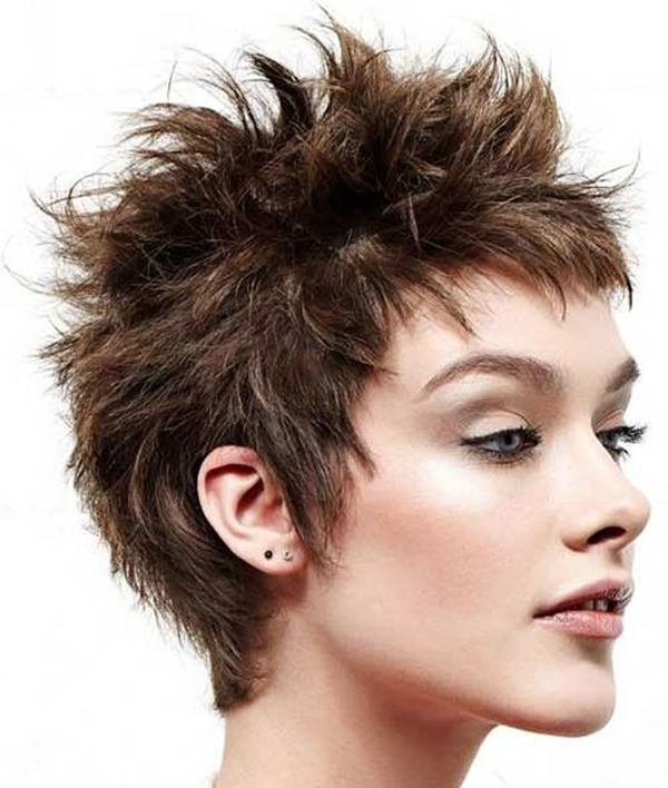 short spiky haircuts for fine hair spiky hairstyles for trending in may 2019 1862 | Eyecatching Short Spiky Haircuts for Women 1