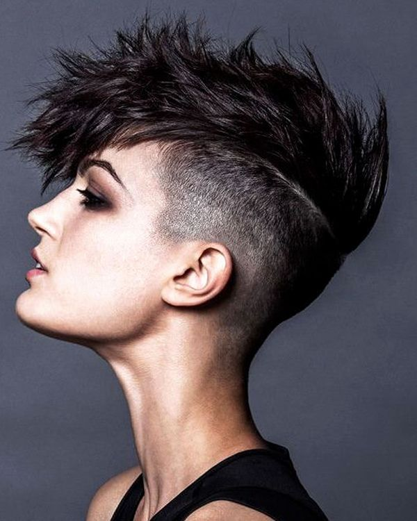 Eyecatching Short Spiky Haircuts for Women 4