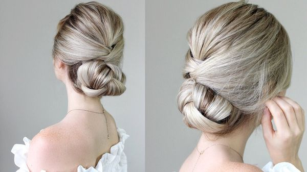 Formal hairstyles for long hair to wear at prom 3