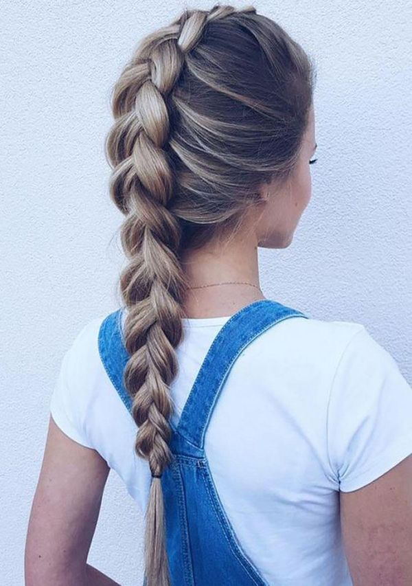 French braid ideas for really long hair 3