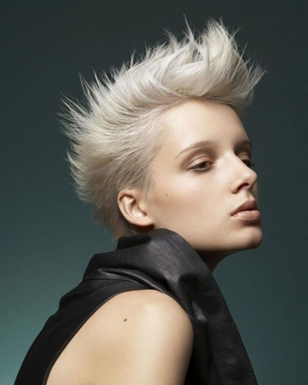 Ideas for Female Short Spiked Up Hair 2
