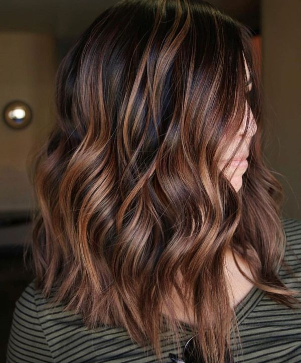 Brown Balayage: Best Ideas of Brunette Balayage (May 2019)