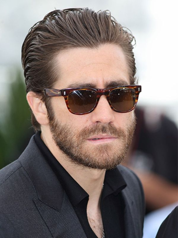 Long Slicked Back Hair for Men 4