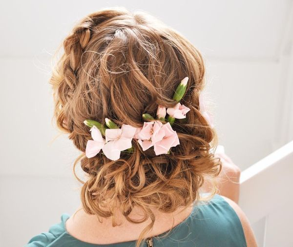 Long prom hairstyles with accessories 3