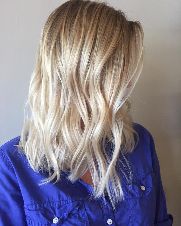 Messy lob hair styles any girl will love 1
