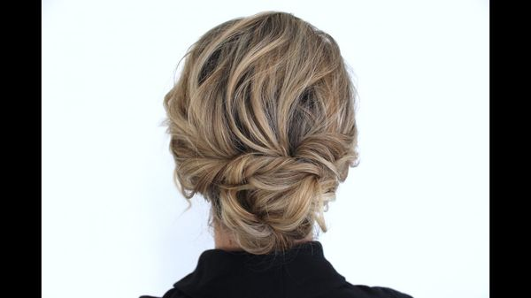 Messy updo hairstyles for prom 2