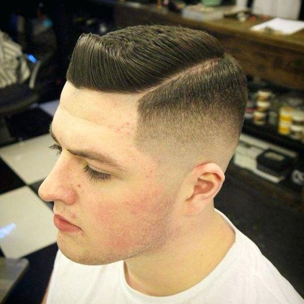 Mid taper fade with part 2