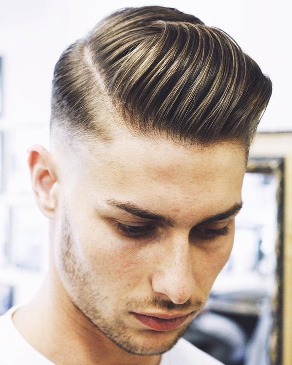 Mid taper fade with part 3
