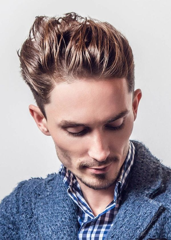 Modern Hairstyles with Hair Slicked Back 3