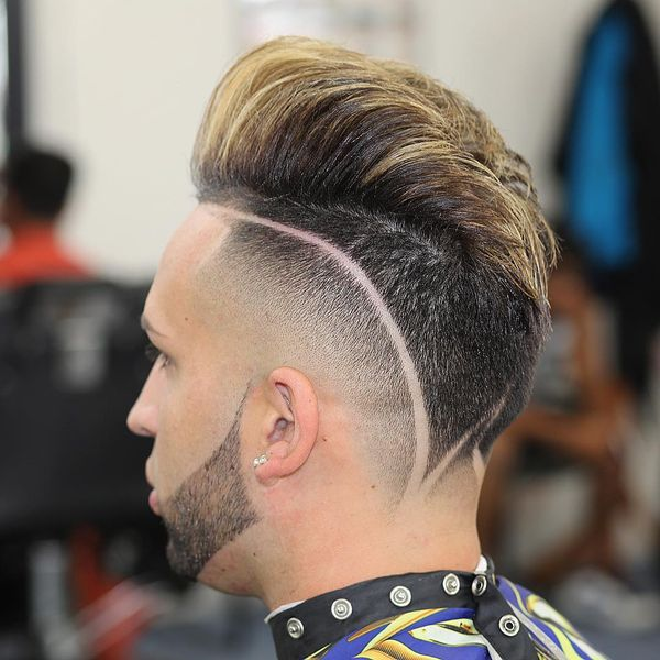 Most popular hard part haircuts 1