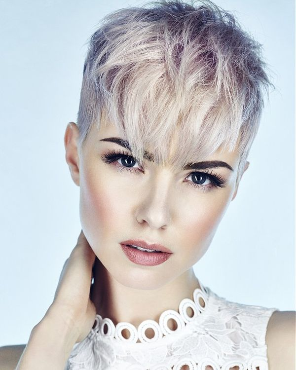 New Hair Coloring Ideas for Very Short Hair 3
