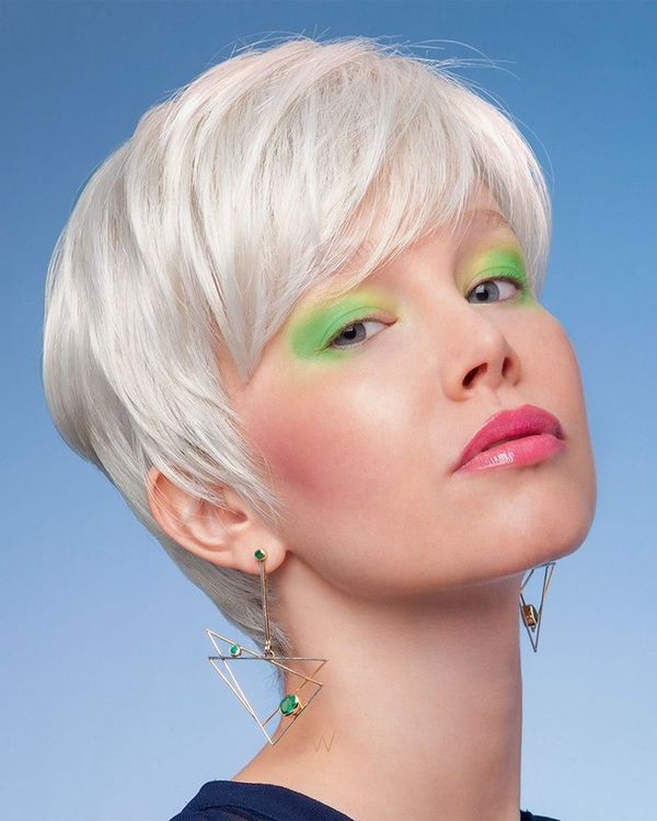 New Hair Coloring Ideas for Very Short Hair 4