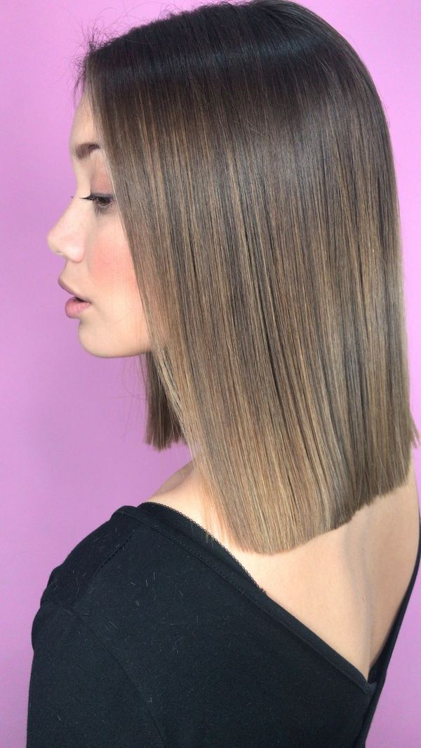 Pictures of blunt long bob hairstyle 2
