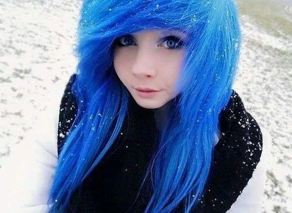 Popular emo hair colors for emo teen girls 5