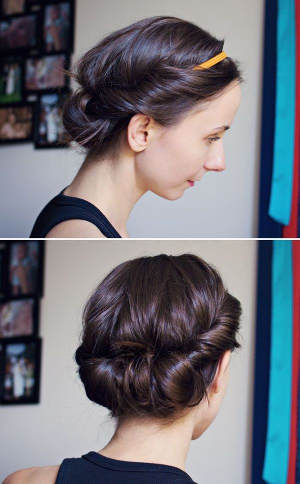 Semi Formal Upstyles For Medium Hair To Do Yourself 3