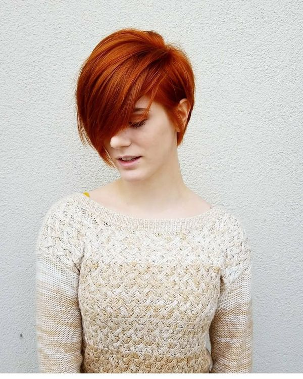 Sexy Short Red Hairstyles For Red Headed Women 1