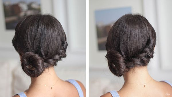 Shoulder Length Hairstyle Updos For Women 3