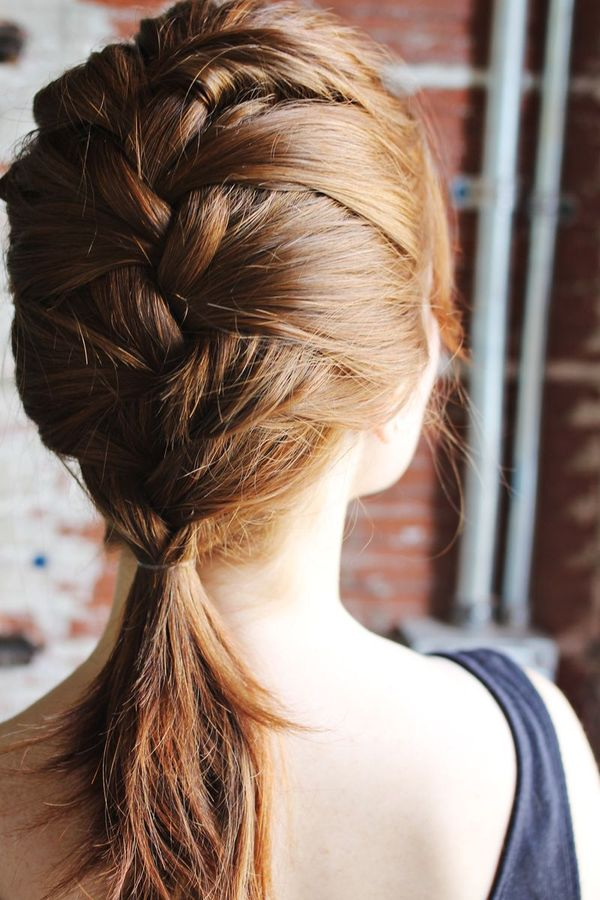 Simple Updos With Braids For Collarbone Length Hair 1