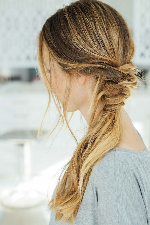 Simple braided hairstyles for long hair 5