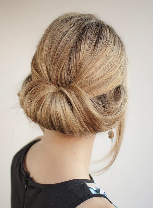 Simple long hair updos for prom 1