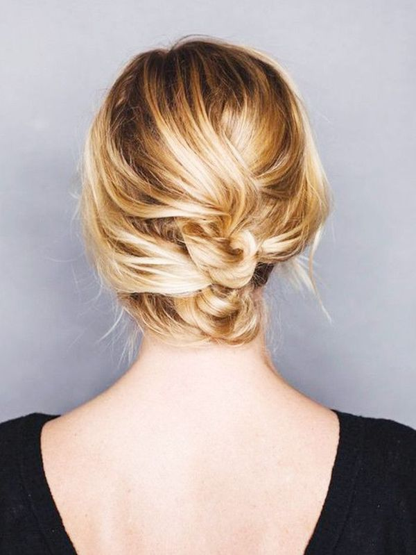 Simple long hair updos for prom 2