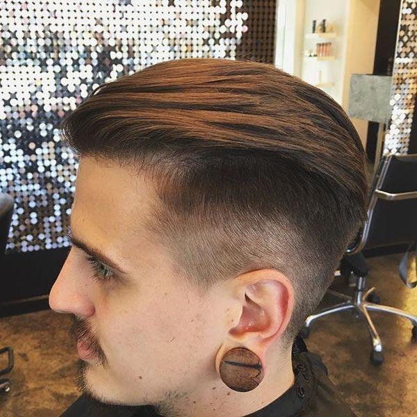 Slicked Back Undercut 5