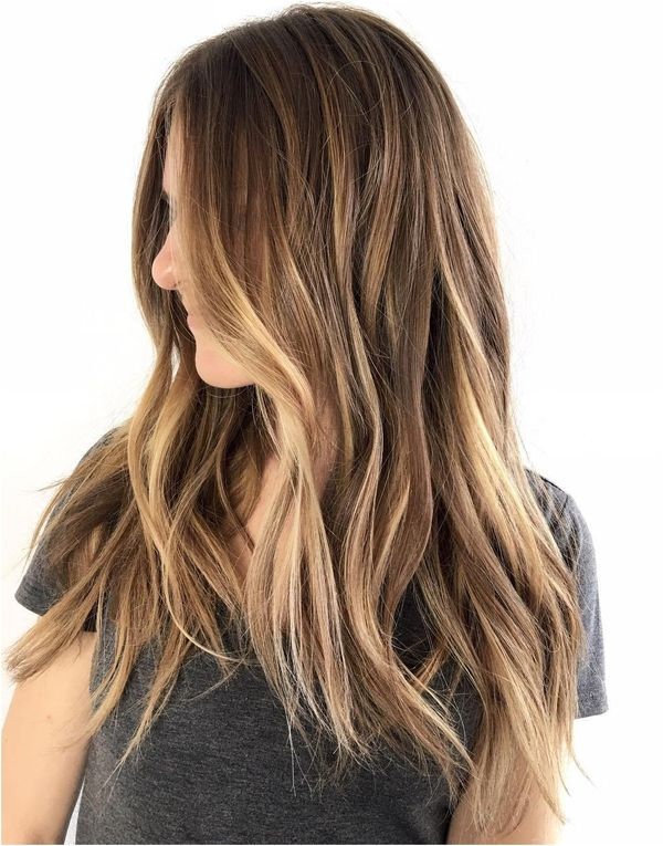 Brown Layered Hair With Blonde Highlights , amazing hair