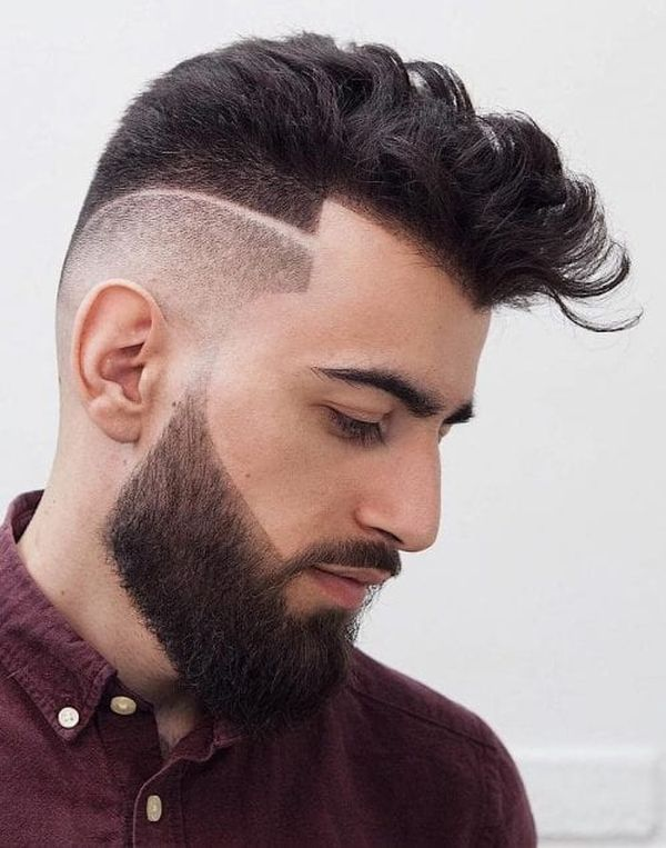 Line Up Haircut 48 Cool Fade Line Haircuts April 2019