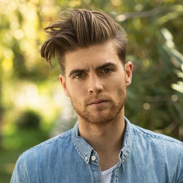 Blowout Haircut For Guys 35 Mens Blowout Fade Ideas January 2019