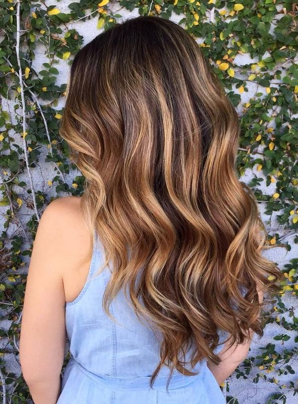 The Best Brown Balayage On Curly Hair 3