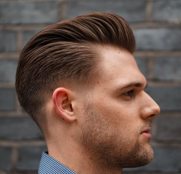 Timeless Slick Back Pompadour 3