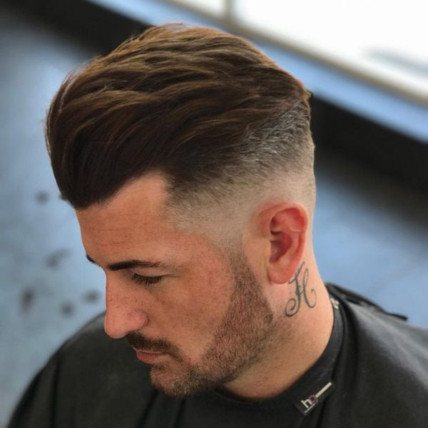 Timeless Slick Back Pompadour 4