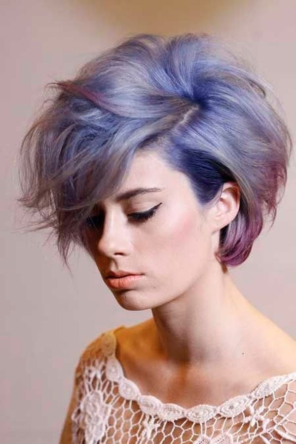 Trendy Hair Dye Styles for Short Hair 3