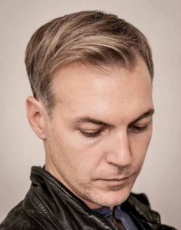 Trendy Hairstyles for Balding Men with Long Hair 3