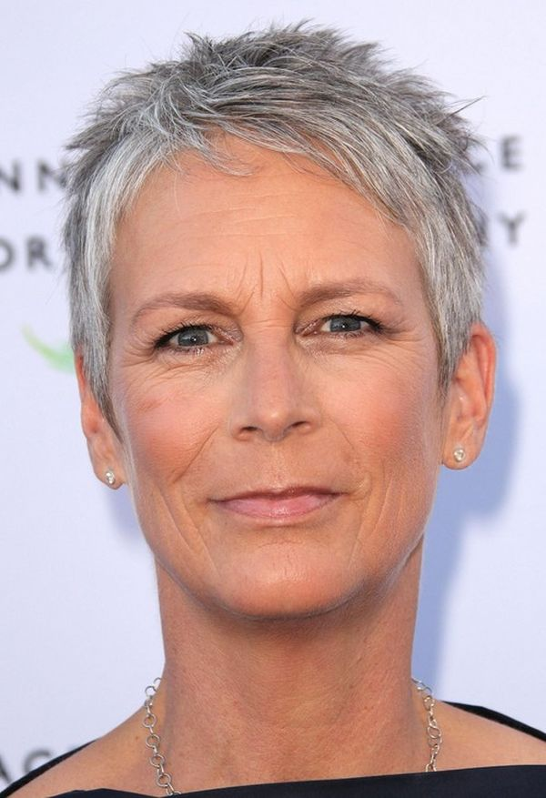 Trendy Short Spiky Haircuts for Women Over 50 5