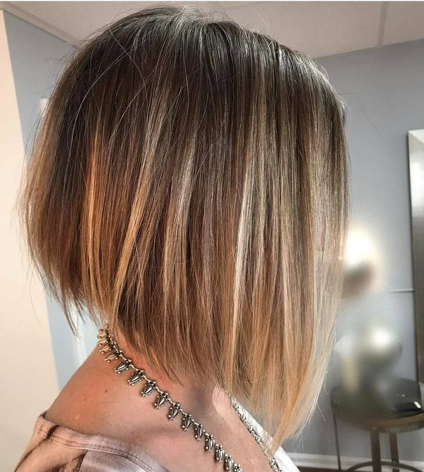 Trendy short straight haircuts for girls 3