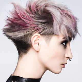 Unique Hair Colors for Girls with Short Hair 2