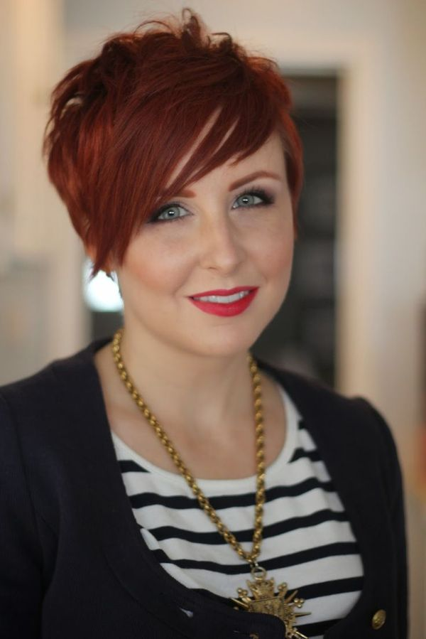 Very Short Hairstyles For Redheads 1