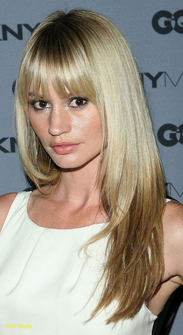Ideas for long straight hair with bangs 4