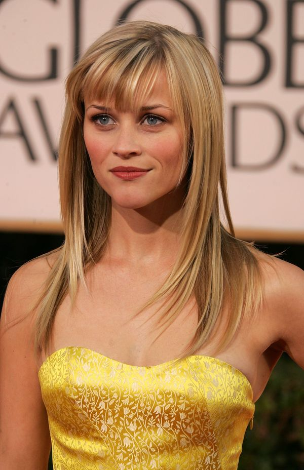 Ideas for long straight hair with bangs 5