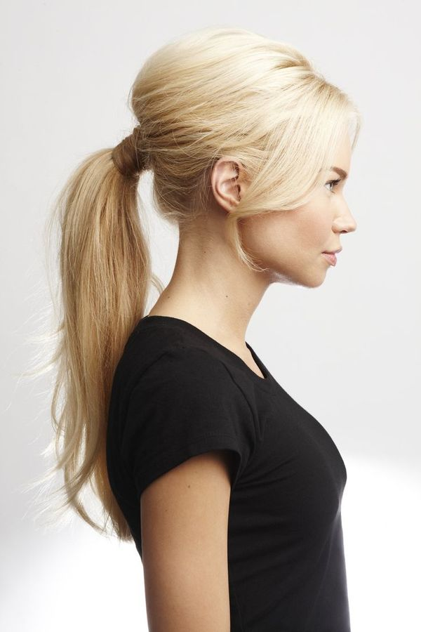 Ideas for long straight hair with bangs 8