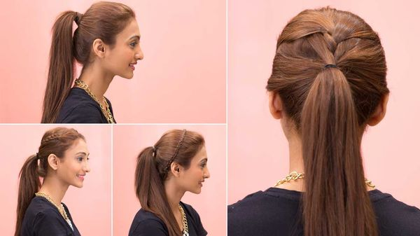 Quick and easy hairstyles for long straight hair 2