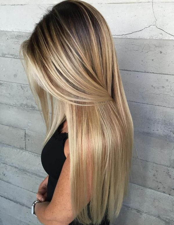 The best haircuts for long straight hair 6