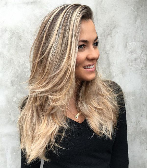 Trendy long straight hairstyles with layers 2